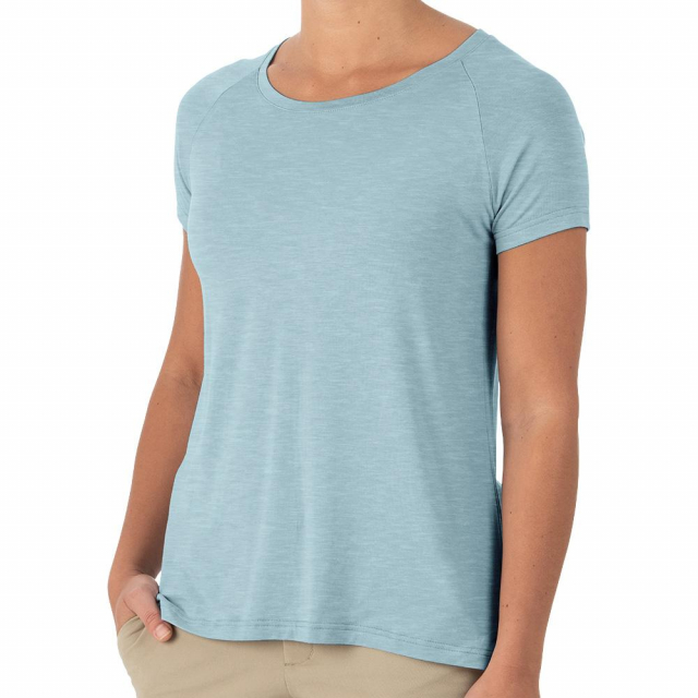 Free Fly Apparel - Women's Bamboo Explorer Tee in Sioux Falls SD