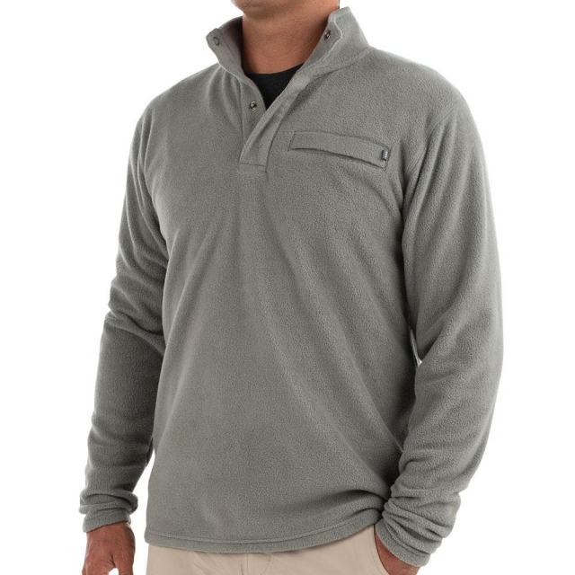 Free Fly Apparel - Men's Bamboo Polar Fleece Snap Pullover in Sioux Falls SD