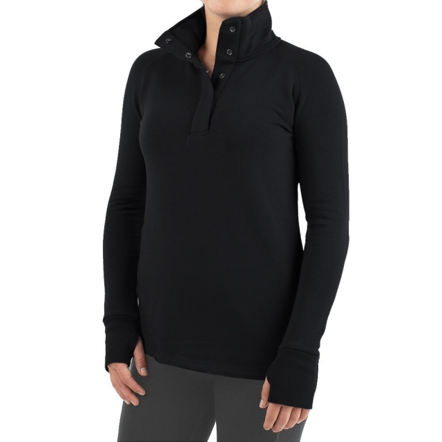 Free Fly Apparel - Women's Bamboo Thermal Fleece Pullover in Sioux Falls SD