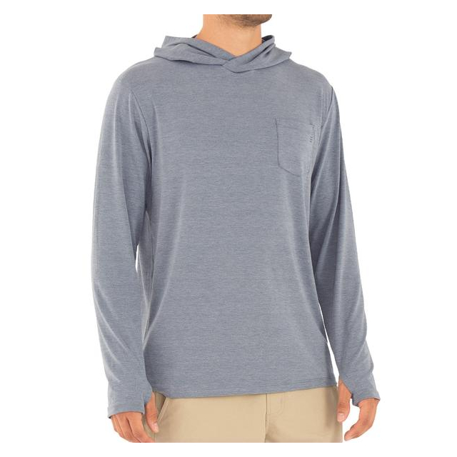 Men's Bamboo Crossover Hoody