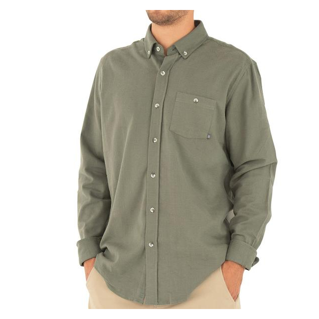 Free Fly Apparel - Men's Bamboo Flannel Button Up in Sioux Falls SD