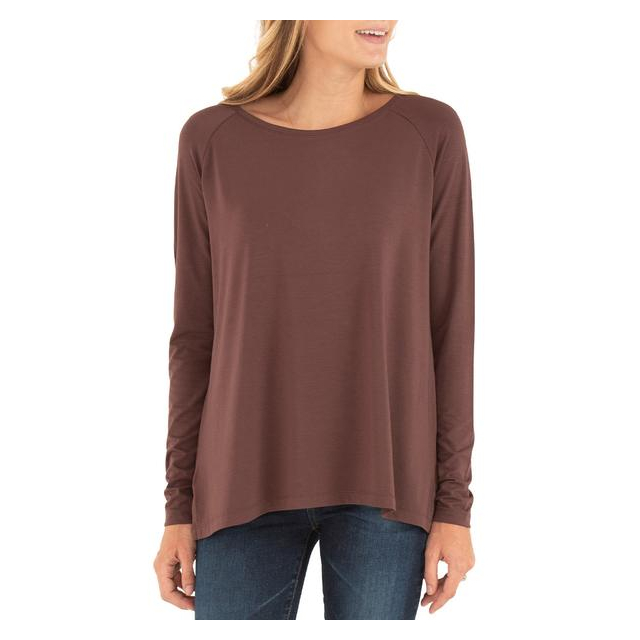 Free Fly Apparel - Women's Bamboo Everyday Flex Long Sleeve in Sioux Falls SD
