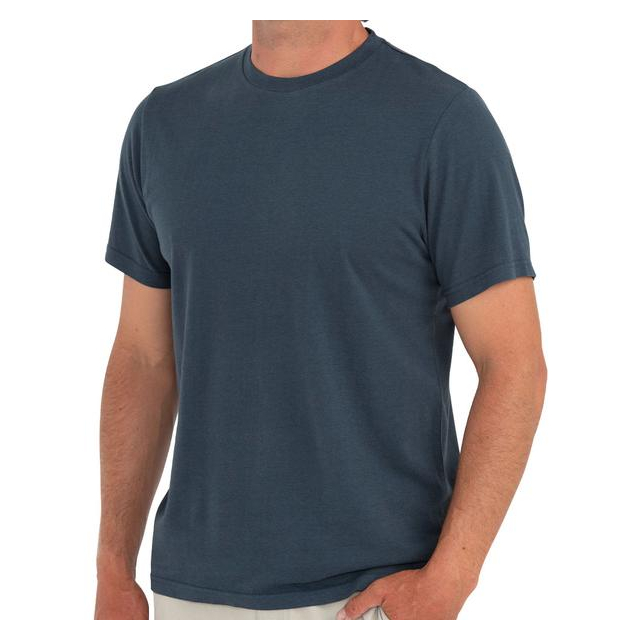 Free Fly Apparel - Men's Bamboo Heritage Tee in Sioux Falls SD