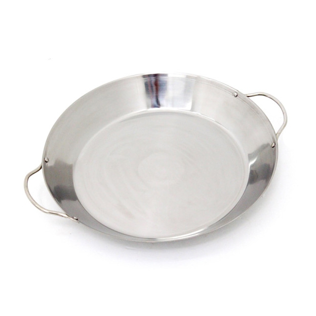 Big Green Egg - Stir-Fry and Paella Grill Pan, Stainless