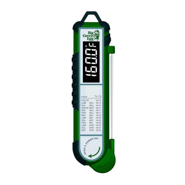 Big Green Egg - Instant Read Digital Food Thermometer