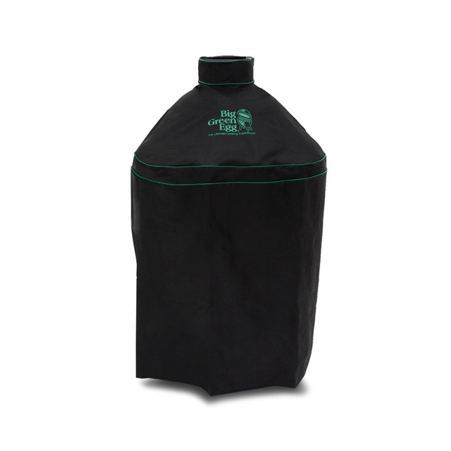 Big Green Egg - Ventilated Cover w/piping and handle for Medium EGG in Nest