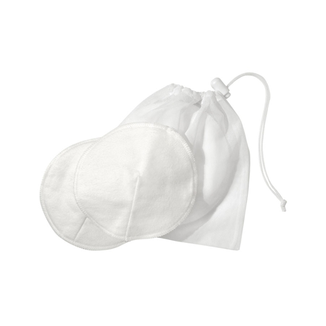 Medela - 100% Cotton Washable Bra Pads with Laundry Bag