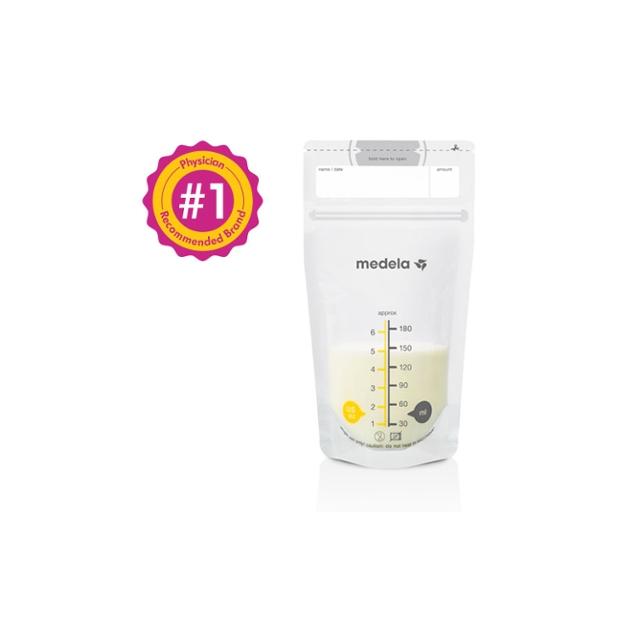 Medela - Breast Milk Storage Bags - 50 Count