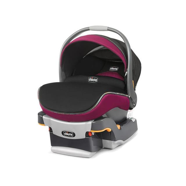 Chicco - Keyfit Zip Baby Car Seat Fuchsia