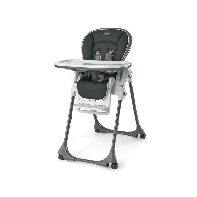 Chicco - Polly Single Pad Highchair Lilla
