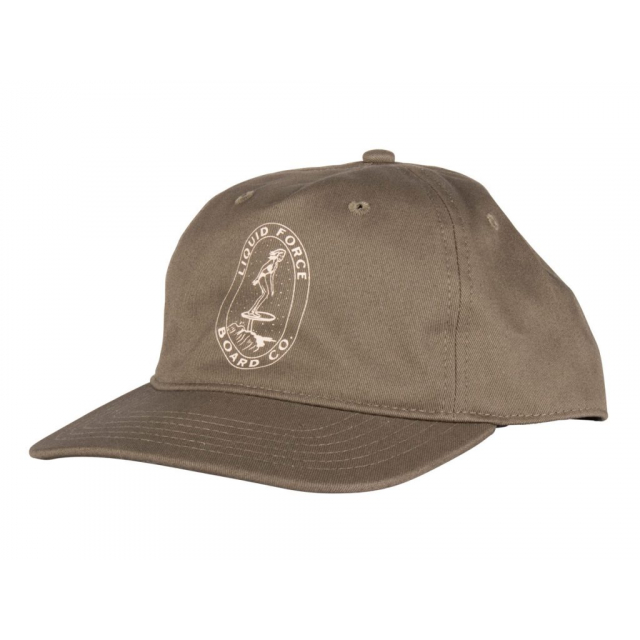 Liquid Force - Foil - Army Green 5 Panel Unstructured Snapback in Orange City FL