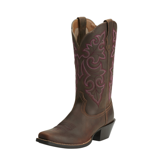 Ariat - Women's Round Up Square Toe Western Boot in Fort Collins CO