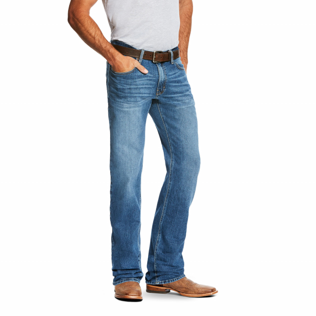 Ariat - Men's M2 Relaxed Stretch Legacy Boot Cut Jean in Loveland CO