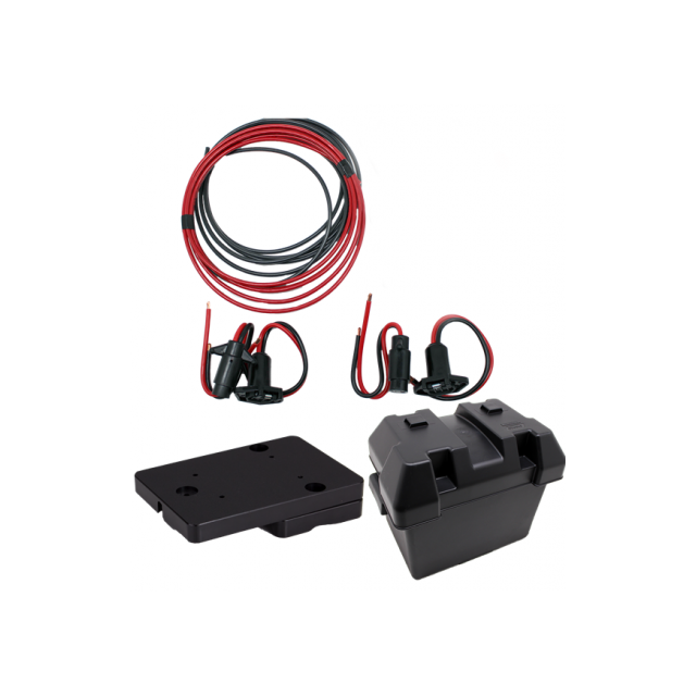 NuCanoe - Flint Bow Mount Motor P+P Kit
