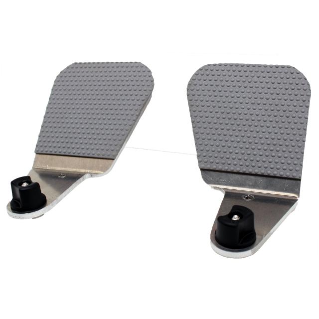 NuCanoe - Foot Pegs