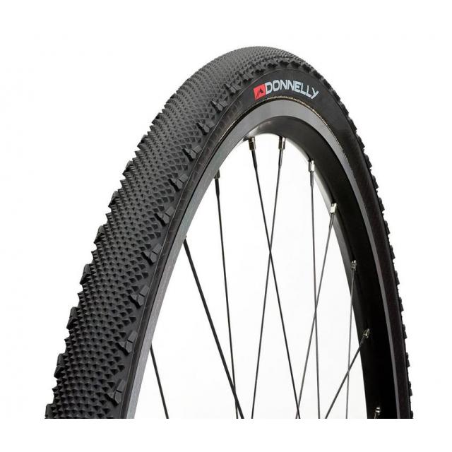 Clement / Donnelly - LAS 700 x 33 120TPI, Foldable bead 70 tread compound, Black tire 284 grams