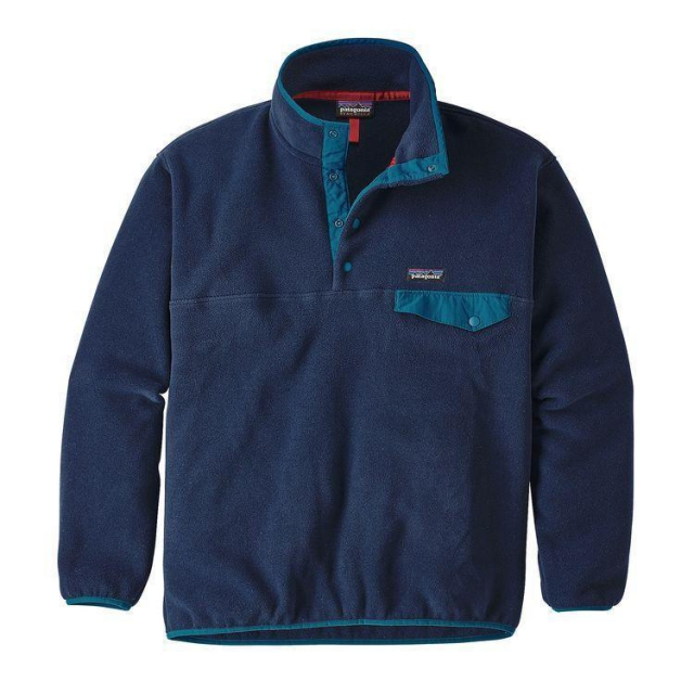 Patagonia - Men's Synch Snap-T P/O in Evergreen Co
