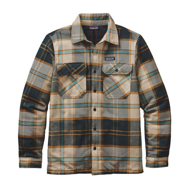 Patagonia - Men's Insulated Fjord Flannel Jacket