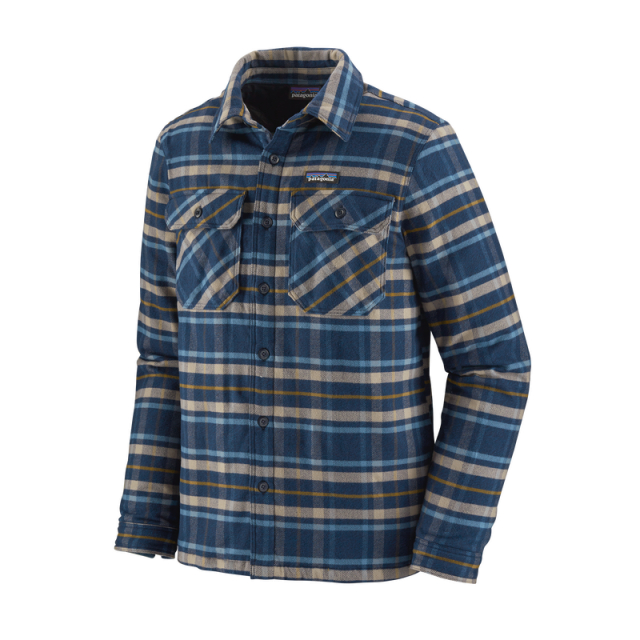 Patagonia - Men's Insulated Fjord Flannel Jacket in Sioux Falls SD
