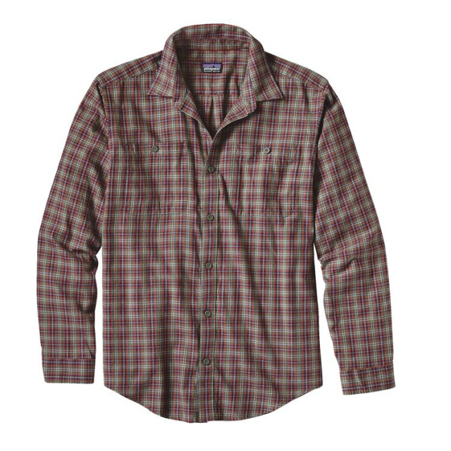 Patagonia - Men's L/S Pima Cotton Shirt
