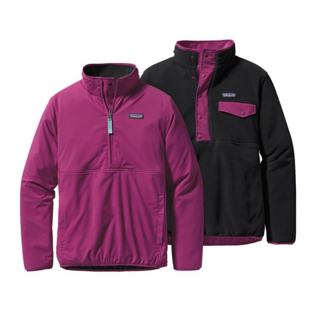 Patagonia - Women's Reversible Snap-T Glissade Pullover