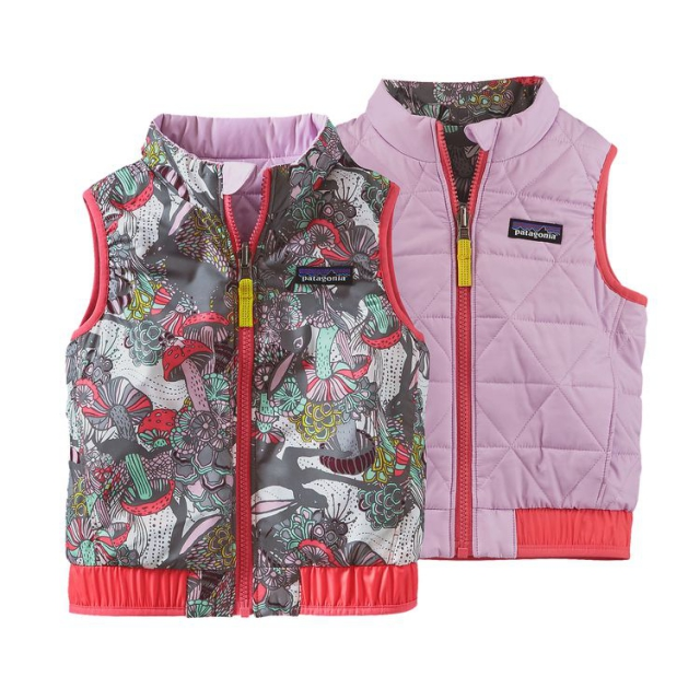 5118486af Patagonia / Baby Reversible Puff-Ball Vest