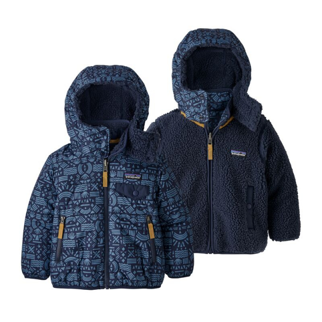 Patagonia - Baby Reversible Tribbles Hoody in Sioux Falls SD