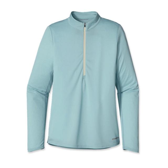 Patagonia - Women'sLong-Sleeved  Fore Runner Zip Neck
