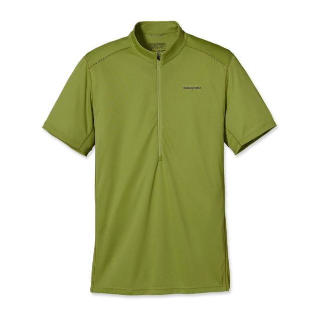 Patagonia - Men's Short-Sleeved Fore Runner Zip Neck