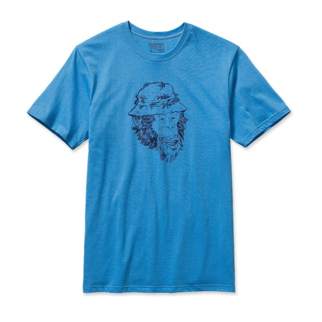 Patagonia - Men's Fish Monkey Cotton T-Shirt