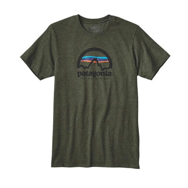 Patagonia - Men's Arched Logo Cotton/Poly T-Shirt