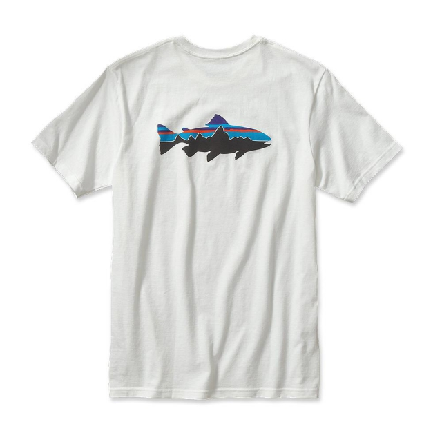 Patagonia - Men's Fitz Roy Trout Cotton T-Shirt in Sioux Falls SD