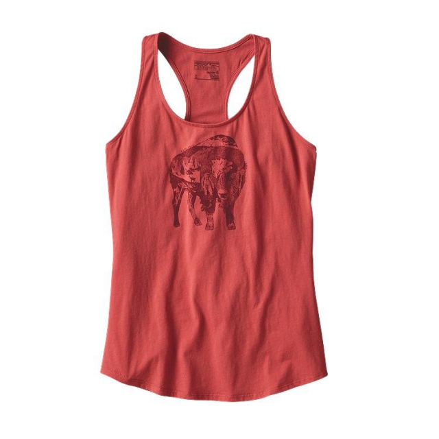 Patagonia - Women's Illustrated Buffalo Cotton Tank Top