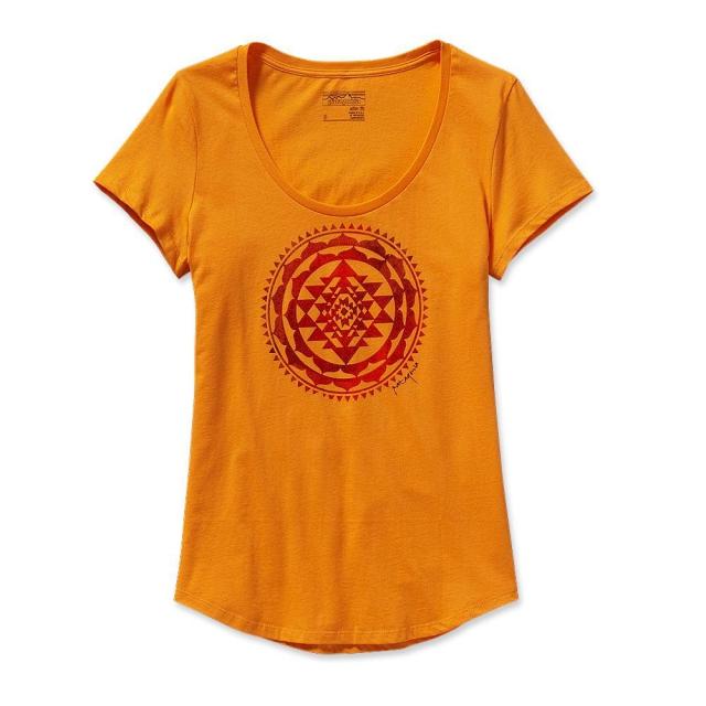 Patagonia - Women's Sun Rose Cotton Scoop T-Shirt