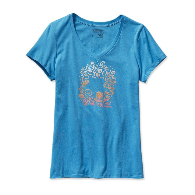 Patagonia - Women's Live Simply Homegrown Cotton V-Neck T-Shirt