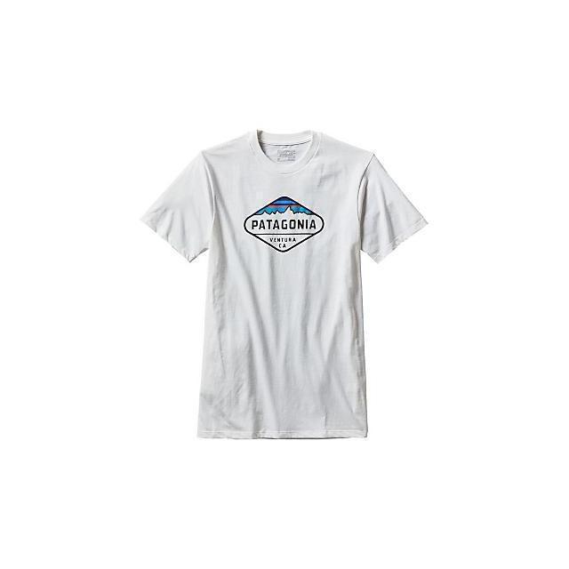 Patagonia - Men's Fitz Roy Crest Cotton/Poly T-Shirt