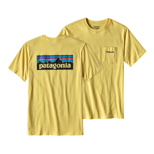 Patagonia - Men's P-6 Logo Cotton Pocket T-Shirt