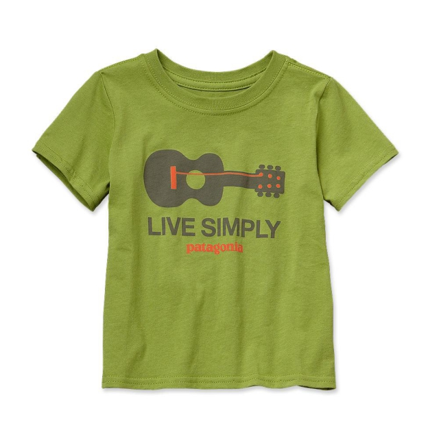 Patagonia - Baby Live Simply Guitar Cotton T-Shirt