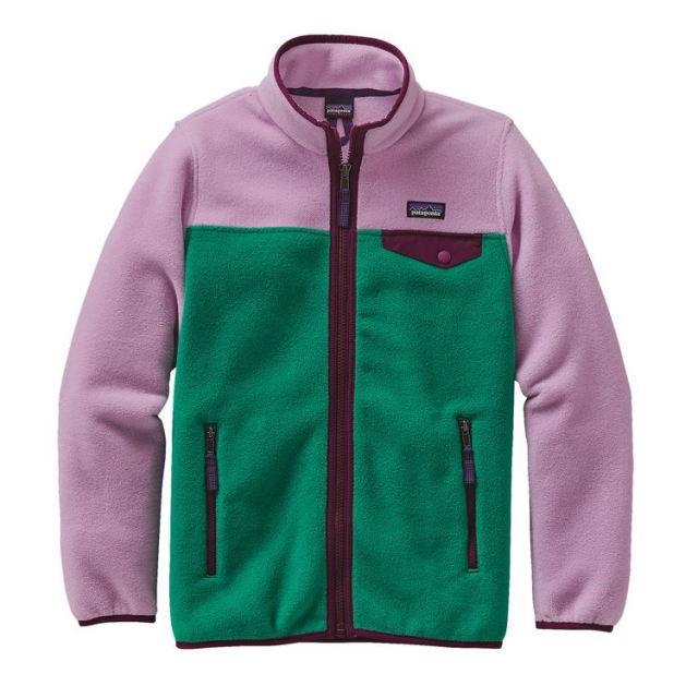 Patagonia - Girls' Lightweight Synchilla Snap-T Jacket