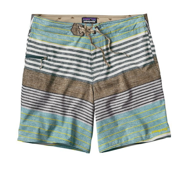 Patagonia - Men's Printed Stretch Planing Board Shorts - 18 in.