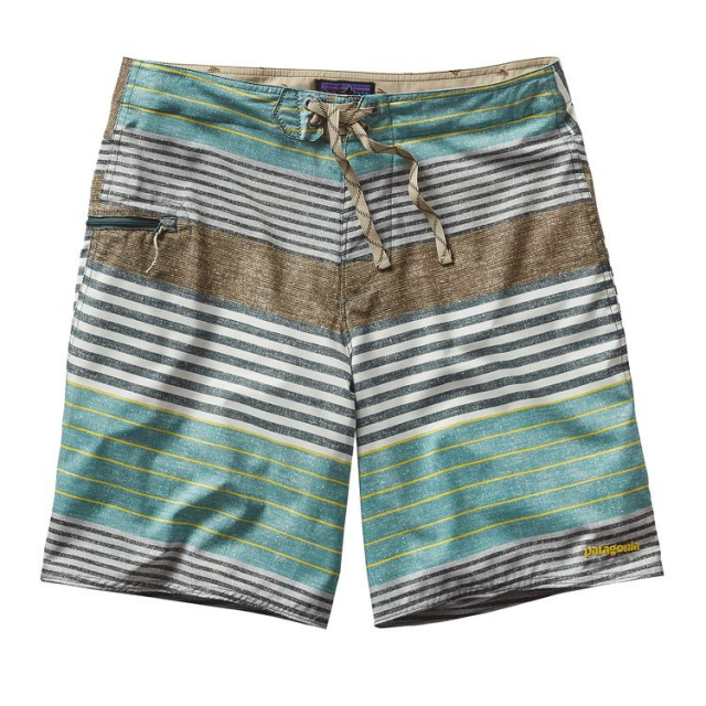 Patagonia - Men's Printed Stretch Planing Board Shorts - 20 in.