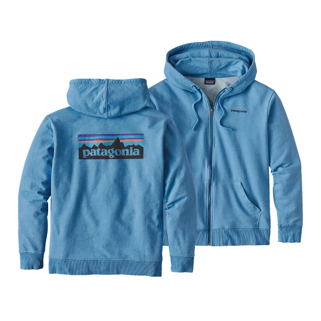 Patagonia - Men's P-6 Logo MW Full-Zip Hoody