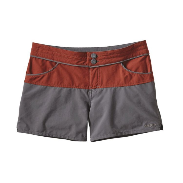 Patagonia - Women's Colorblock Stretch Wavefarer Shorts