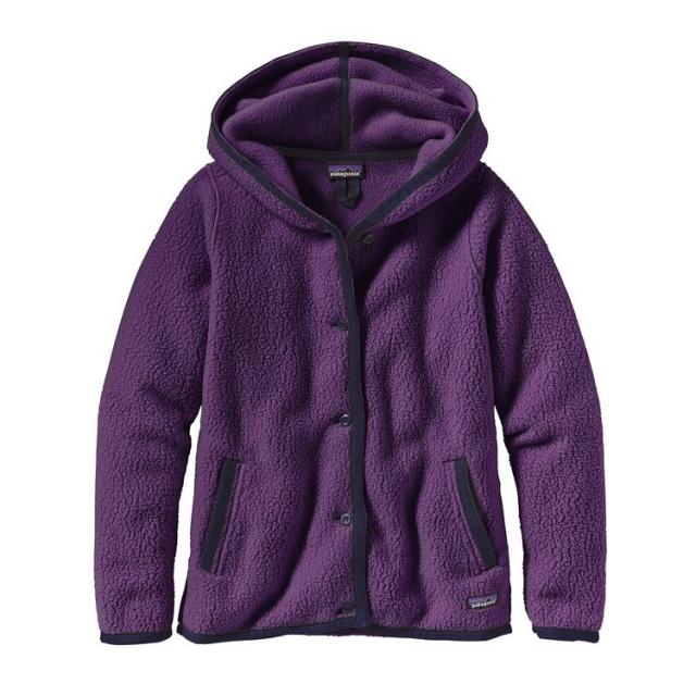 Patagonia - Women's Shearling Fleece Hooded Cardigan