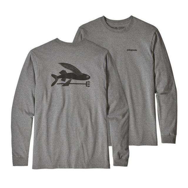 Men's L/S Flying Fish Responsibili-Tee