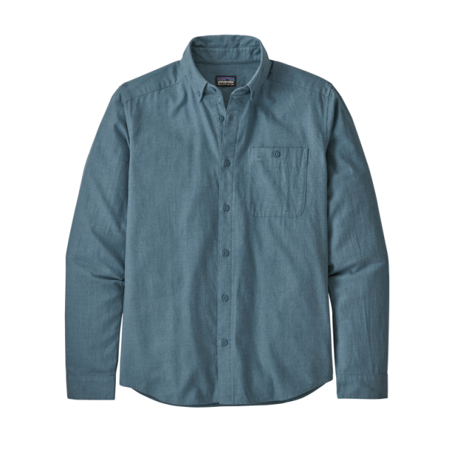 Men's L/S Vjosa River Pima Cotton Shirt