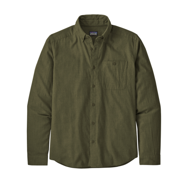 Men's L/S Vjosa River Pima Cotton Shirt