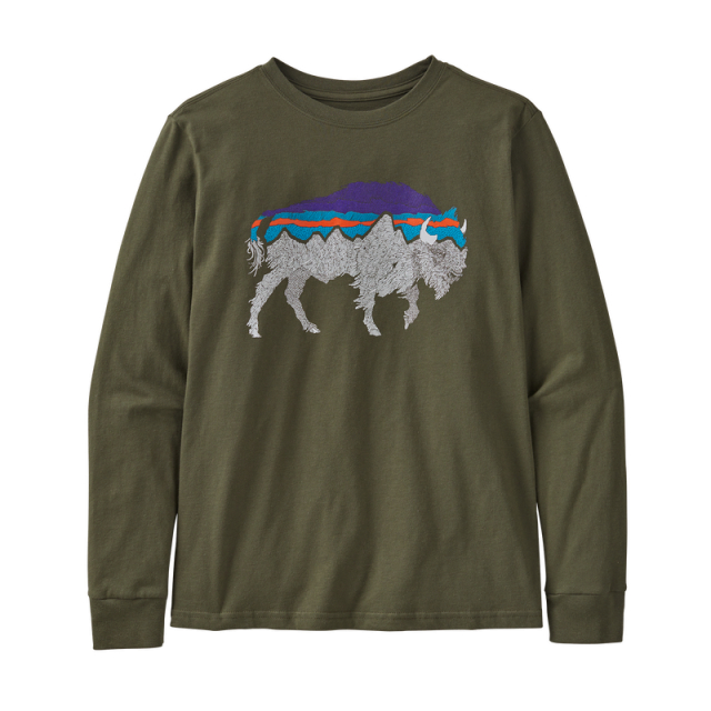 Boys' L/S Graphic Organic T-Shirt