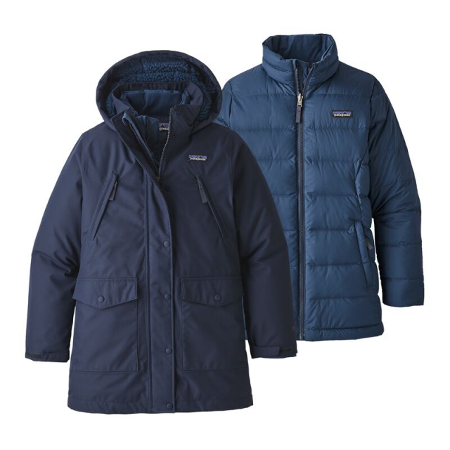Patagonia - Girls' Tres 3-in-1 Parka in Iowa City IA