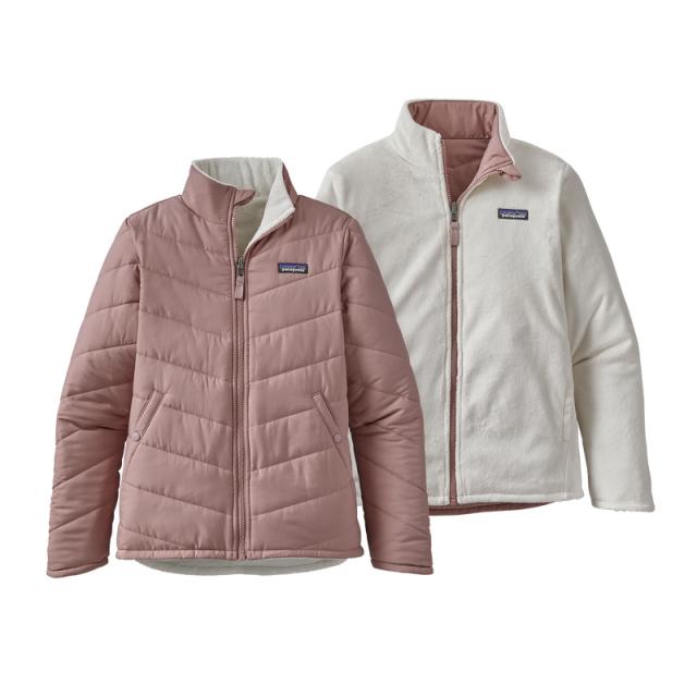 Girls' Reversible Snow Flower Jacket
